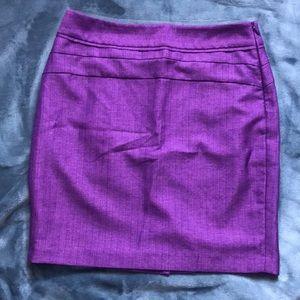 Limited Purple Pencil Skirt 4